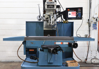 trak 3-axis cnc bed mill w/hand wheels