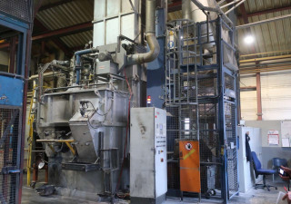 Feuro FS2 1250/1500 Melting/Holding Furnace