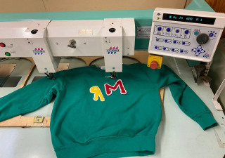 Tajima-Chenille-Embroidery-Machine 4-Head