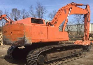 Hitachi EX400LC Track Excavator