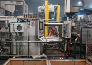 Italpresse TF800 (Al Aloy) Die Cast Machine