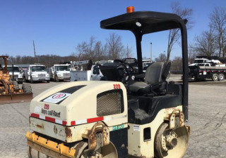 2005 Ingersoll-Rand Dd-34Hf Vibratory Double Drum Roller