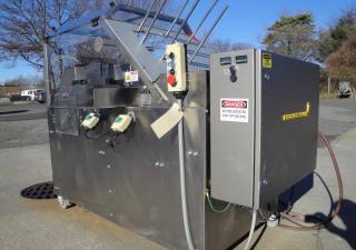 Cartoneuse Econoseal E-2000 avec thermofusible, acier inoxydable