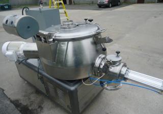 Diosna P 250-A Stainless Steel Mixer-Granulator, 250 Liter