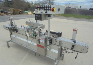 Accraply 350Pw Pressure Sensitive Spot/Wrap Around Labeler With Coder
