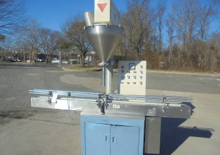 All Fill Sha-100 Automatic Powder Filler With Conveyor