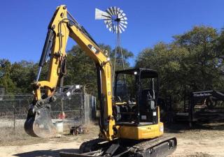2019 Cat 305E2Cr Mini Excavator