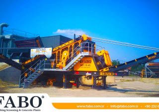 MEY-1645 MOBILE SAND SCREENING & WASHING PLANT