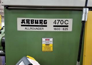Arburg 176-Ton Allrounder Plastic Injection Molding Machine 1995