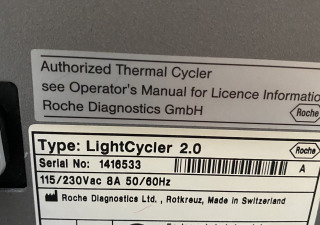 ROCHE Light Cycler 2.0