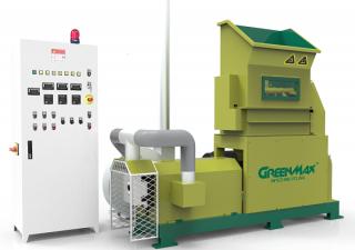Professional EPS foam densifier: GREENMAX Mars C200