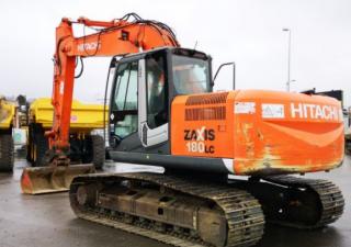 Crawlers Excavators Hitachi Zx180Lc-3 Used
