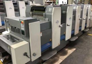 Ryobi 525 GE offset press, year 2010