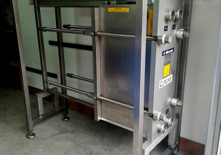 19 Sq. M. Alfa Laval Stainless Steel Plate Heat Exchanger Refurbished