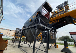120-200 TPH STATIONARY CRUSHING & SCREENING PLANT