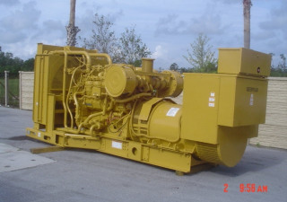 800 Kw Skid Mounted Caterpillar Diesel Generator Set