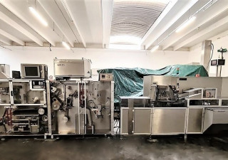 BOSCH Mod. TLT 1400 – CUK 3040 - Blister Packaging line used