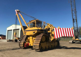 Caterpillar 589105 T Hubkraft 8X Miete / Location Pipelayer