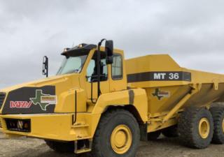 2000 Moxy Mt36 6X6 Articulated Dump Truck
