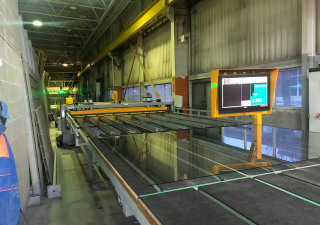 Hegla Optimax Glass Cutting Production Line
