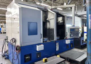 DOOSAN DAEWOO PUMA V550-2SP TWIN SPINDLE CNC VERTICAL TURRET CENTER