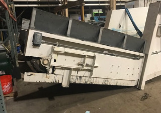 "MAYFRAN 56"" WIDE INCLINED STEEL BELT CONVEYOR"