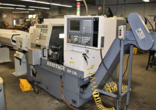 Okuma Heritage ES-L611  Turning Center with Bar Feeder