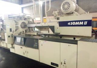 450 ton Mitsubishi injection molding machine