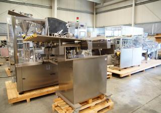 IMA-COMADIS complete tube filling line for aluminium tubes