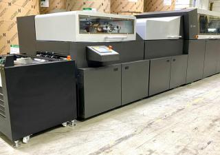 2017 Scodix Ultra Pro Digital Enhancement Press with Foil
