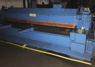 10' X 10 Gauge Wysong Model #1010Hd Power Squaring Shear