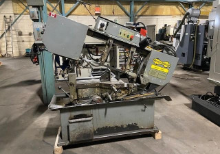 """Hyd-Mech S-20A Horizontal Saw, 13""""X18"""" Rect/13"""" Round, Automatic, 1"""" Blade, 29"""" Shuttle Stroke, 5000 Lb Capacity, 2006"""