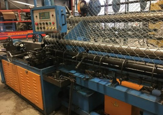 Agape Model AG-1500 Hi-Speed Chain Link Fence Machine with Compactor