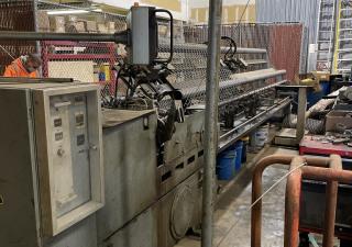 Wafios Model DF-41 Chain Link Fence Weaving Machine