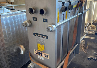 Complete Alfa Laval Line  for Cheese Production