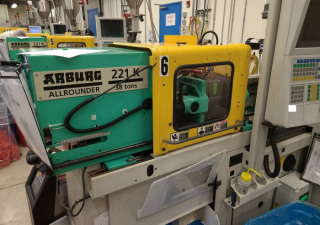 Arburg 38-Ton Plastic Injection Molding Machine 2007