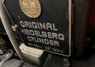 Heidelberg SB Cylinder 56x82 Diecutter Letterpress
