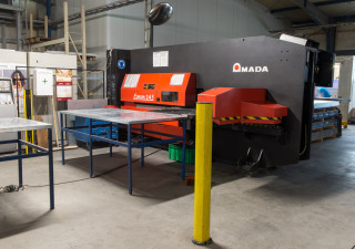 Amada Europe 245 CNC punching machine
