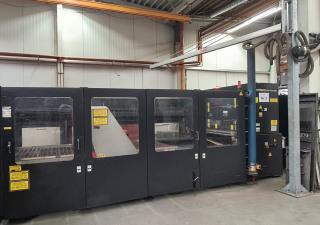 Amada FO 3015 4kW laser cutting machine