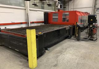 Amada FO 4020 NT laser cutting machine