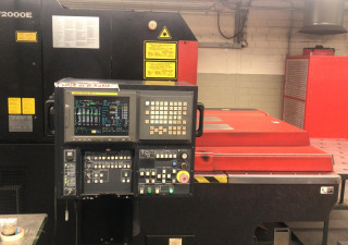 Amada LC 1212 A III 2kW laser cutting machine