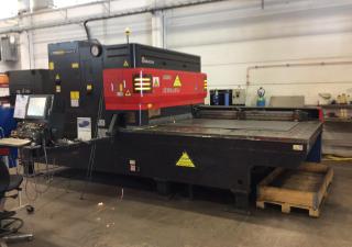 Amada LC 2415 ALPHA IV NT - 4 KW laser cutting machine