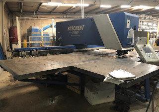 Boschert TWIN 1250 ROTATION CNC punching machine