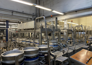 Complete KEG washing and filling system, Capacity: 7 series, each with 50 keg/ h