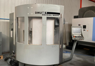 Deckel Maho DMG DMU 60 T high speed machining center