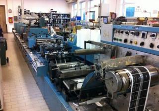 Franchini Sericonvert 4+3 Labels printing machine