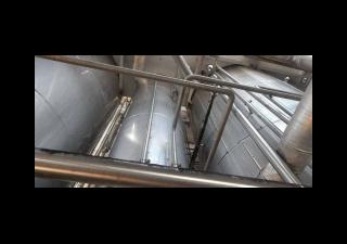 Evaporator plant / evaporation for apple juice concentrate / fruit juice concentrate