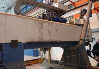 Forest Line NIDA 2000 2T Portal milling machine