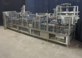 Cup filling and closing machine Grunwald Foodliner FL6000/4