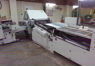 Heidelberg Stahl KD78-4KTL folding machine